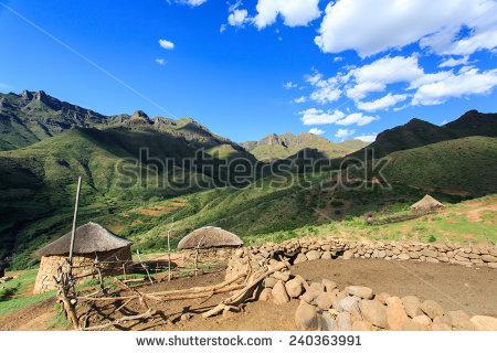 Lesotho Stock Photos, Royalty.