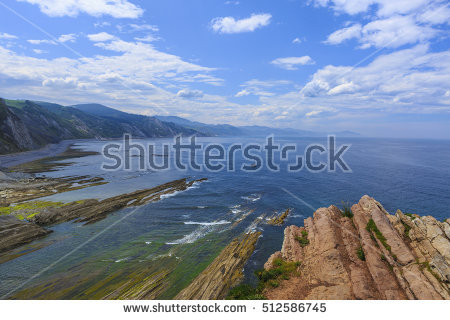 Zumaia Stock Photos, Royalty.