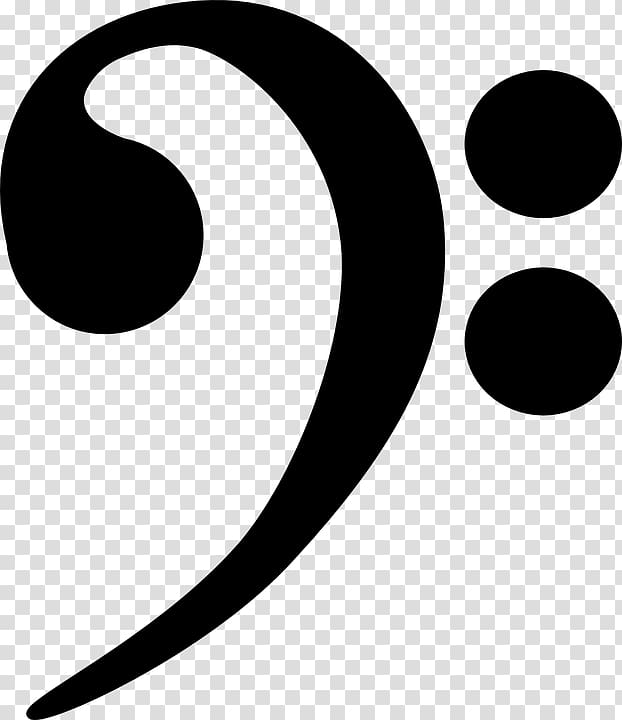 Music note, Clef Treble , bass clef transparent background PNG.