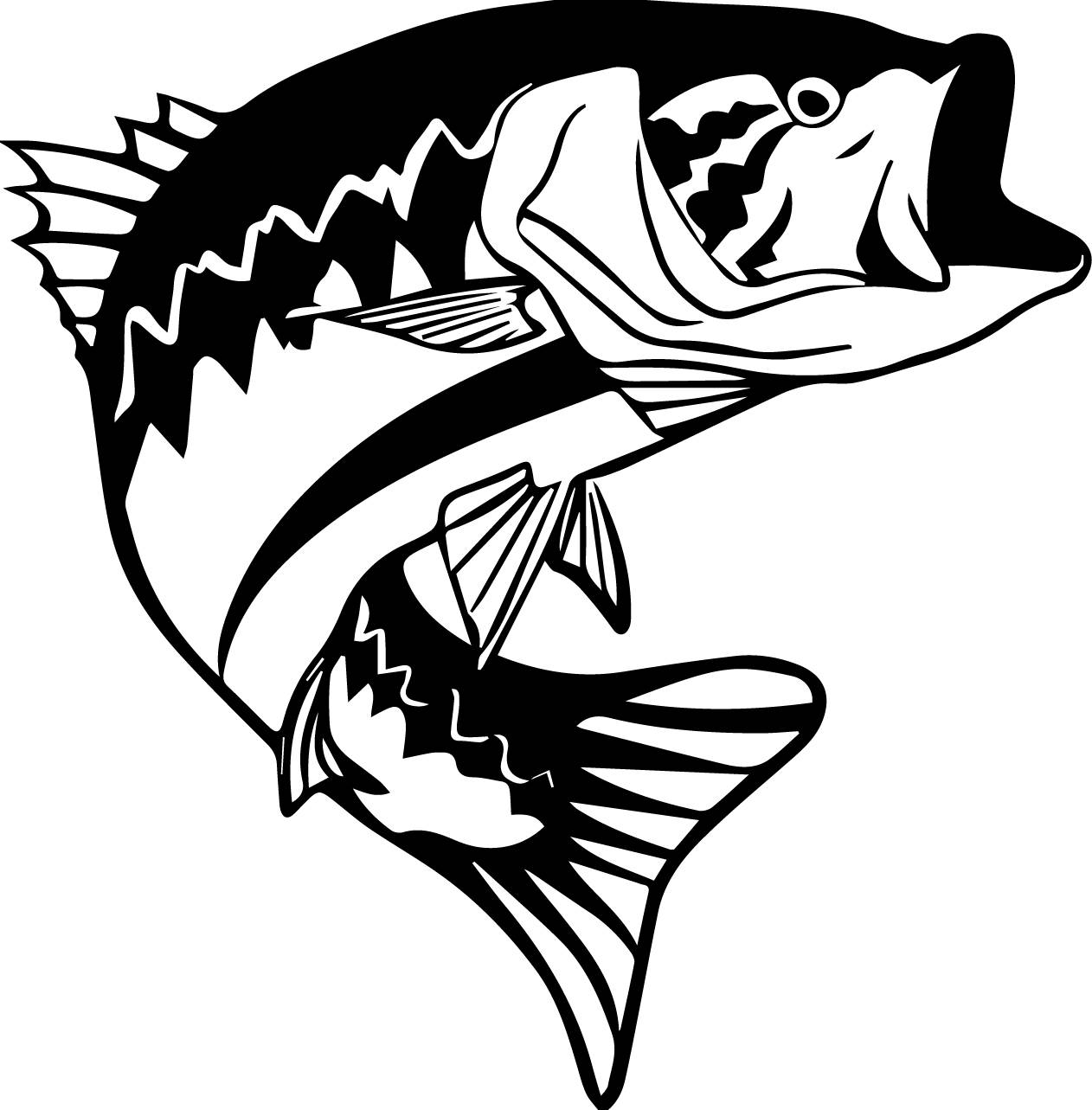 Bass Fish Clipart.