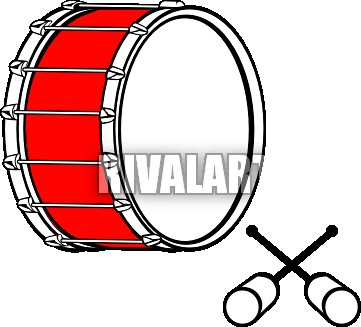 Kissclipart Bass Drum Clip Art Clipart Bass Drums Marching Ban.