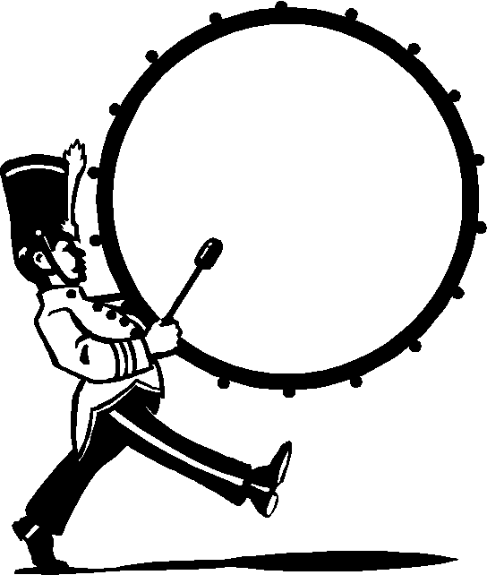 Image result for marching band bass drum clip art.