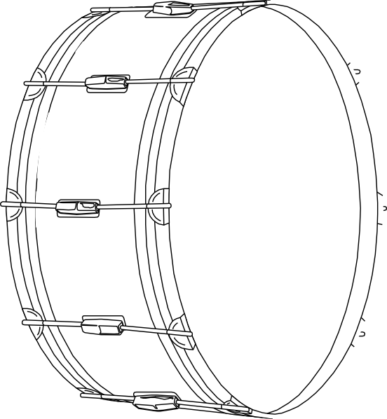Drum Clip Art at Clker.com.