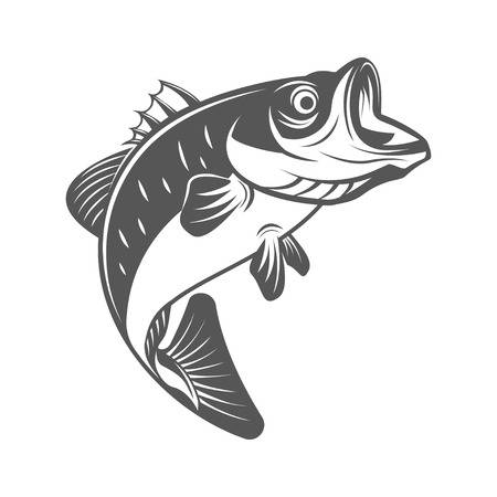 Bass Fish Clipart Black And White (98+ images in Collection) Page 1.