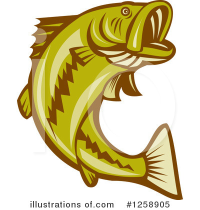 Bass Fish Clipart #1131158.
