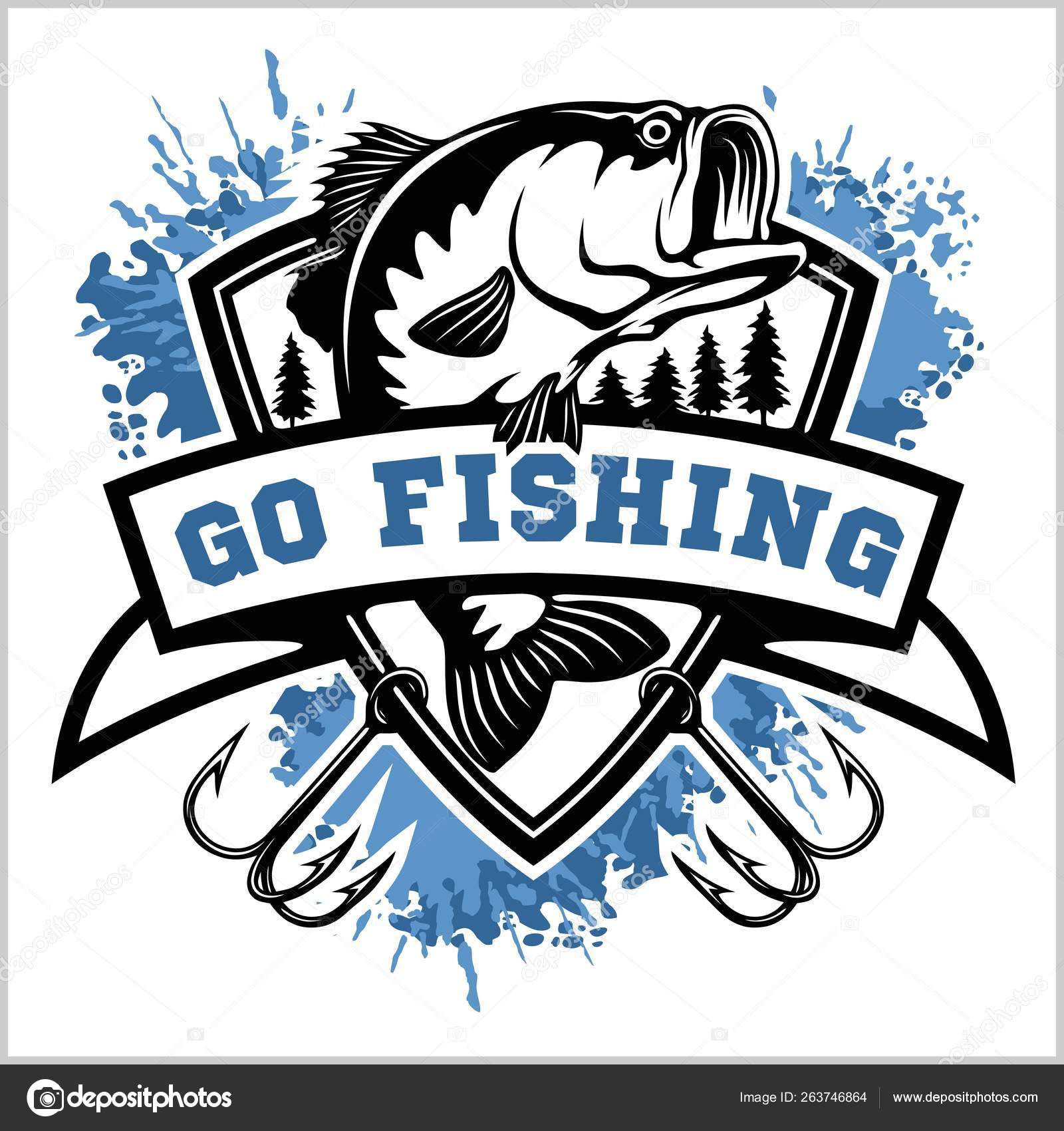 Pictures: bass fish clip art.