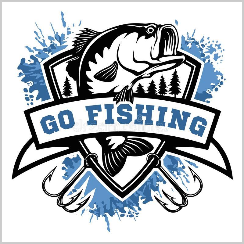 Bass Fish Stock Illustrations.