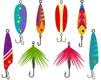 Fishing clip art.