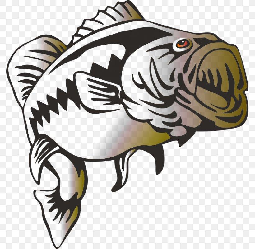 Largemouth Bass Bass Fishing Clip Art, PNG, 800x800px.
