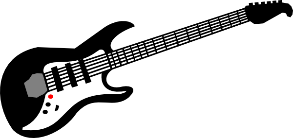 Bass guitar clip art.