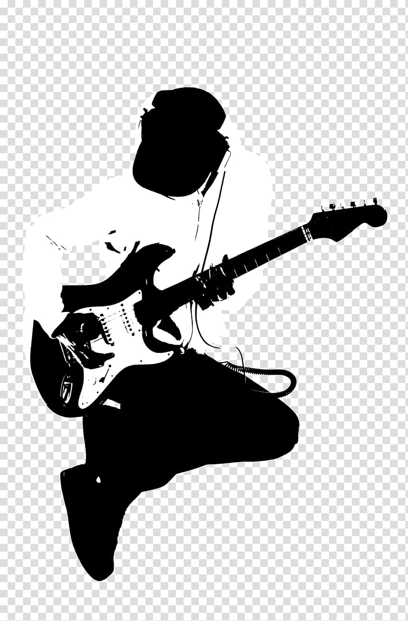 Man playing guitar , Guitarist Black and white, Guitarist.