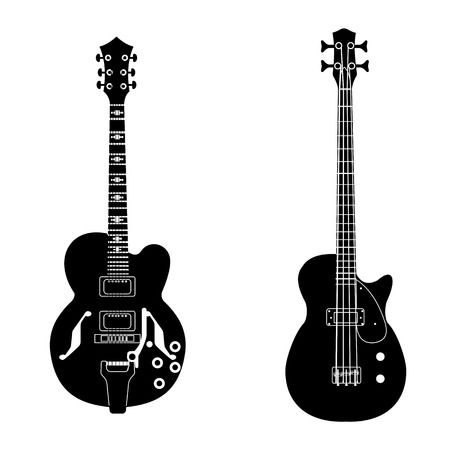 13,943 Bass Guitar Stock Vector Illustration And Royalty Free Bass.