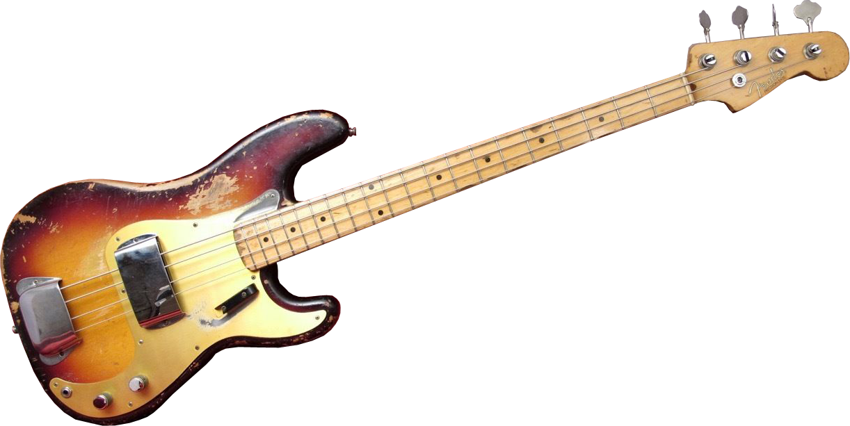 Download Bass Guitar PNG Image.