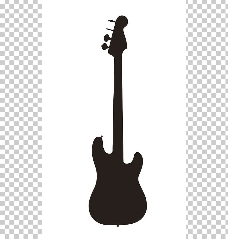 Bass Guitar Silhouette Electric Guitar PNG, Clipart, Acoustic.