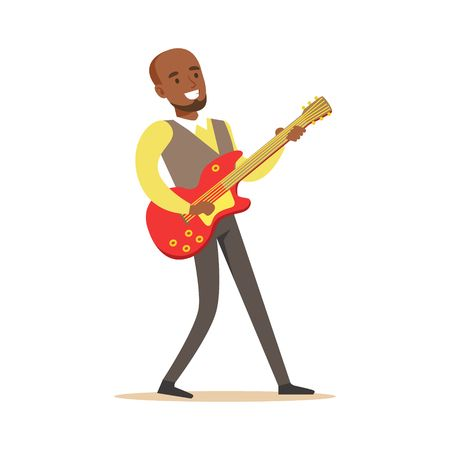 8,244 Guitar Player Stock Illustrations, Cliparts And Royalty Free.