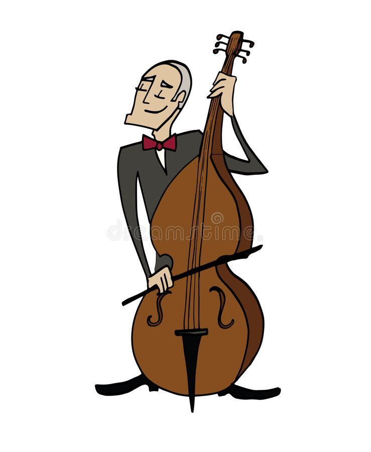 Bass player clipart 9 » Clipart Station.