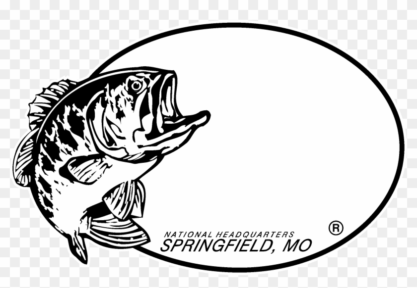 Bass Pro Shops Logo Black And White.