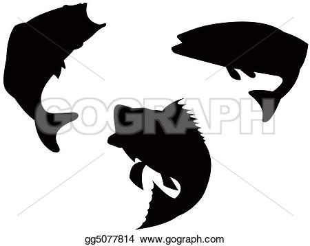 Bass Silhouette Clipart Clipground