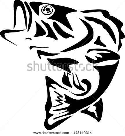 Bass Fish Stock Images, Royalty.
