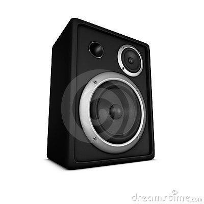 Speaker, Loudspeaker, Box, Subwoofer A Royalty Free Stock Photos.