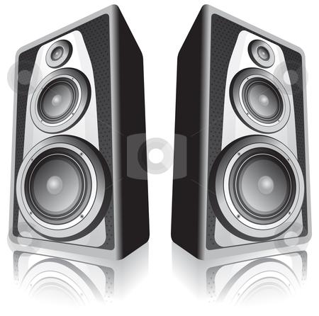 Bass speaker clipart.