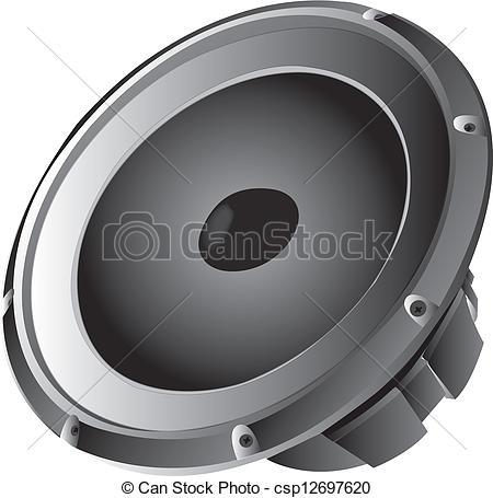 Vector Illustration of Speaker.
