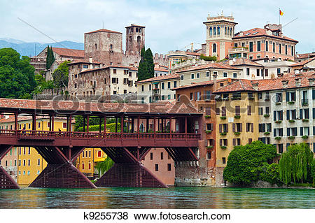 Pictures of italy, bassano del grappa k9255738.