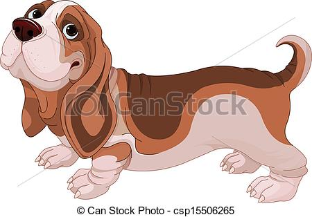 Basset hound Vector Clipart EPS Images. 325 Basset hound clip art.