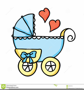 Baby Bassinet Clipart.