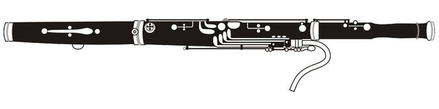 Bassoon Stock Illustrations.
