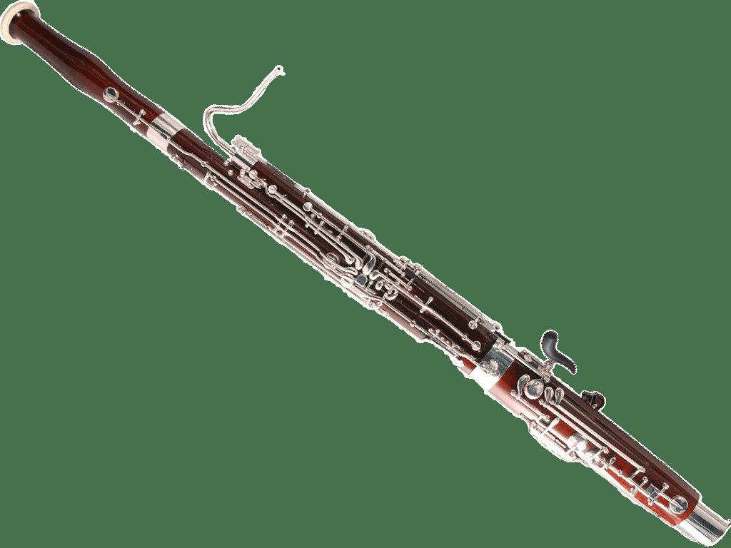 Bassoon transparent PNG.