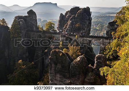 Picture of Bastei Bridge k9373997.