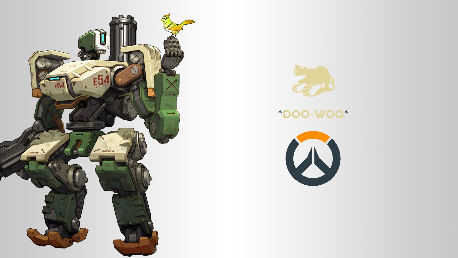 Overwatch Bastion Png (+).
