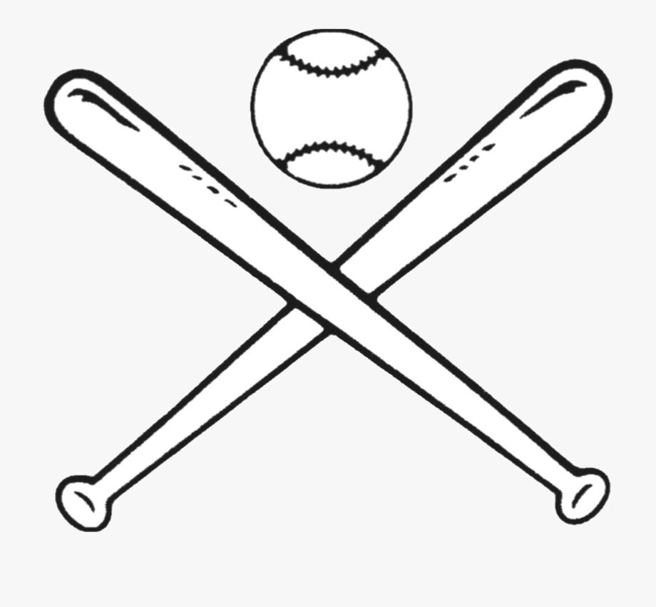 Baseball Bats Drawing Bat And Ball Games Clip Art.