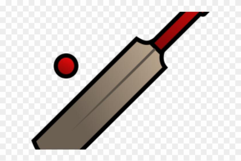 Ball Clipart Cricket Bat, HD Png Download (#737788).
