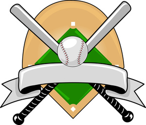 Baseball Ball And Bat Clip Art.