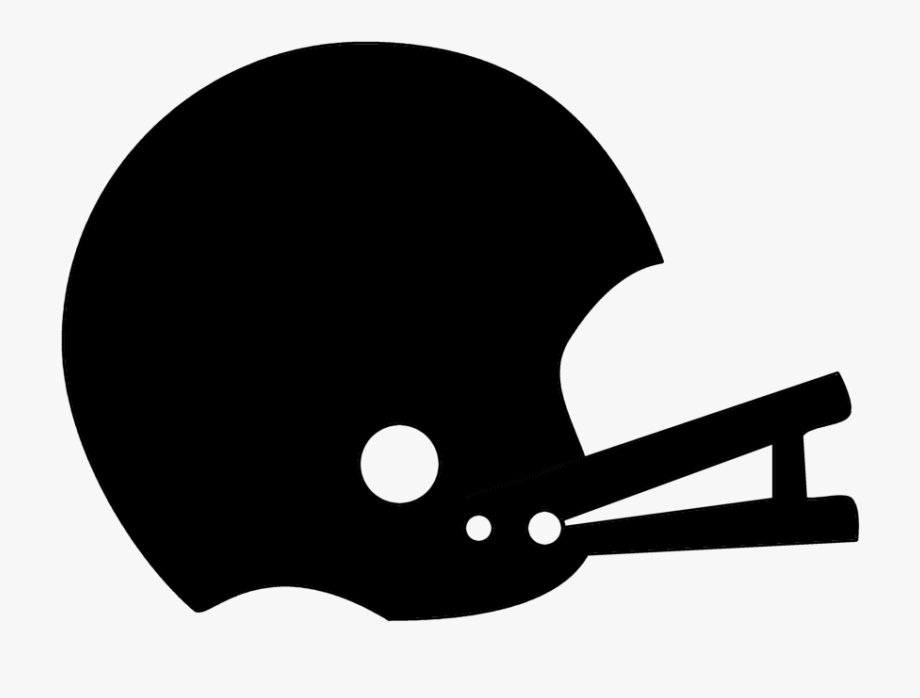 Football Helmet Clipart Black And White.