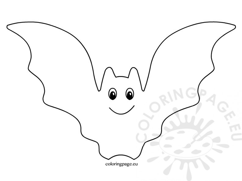 Bat clipart black and white 7 » Clipart Station.