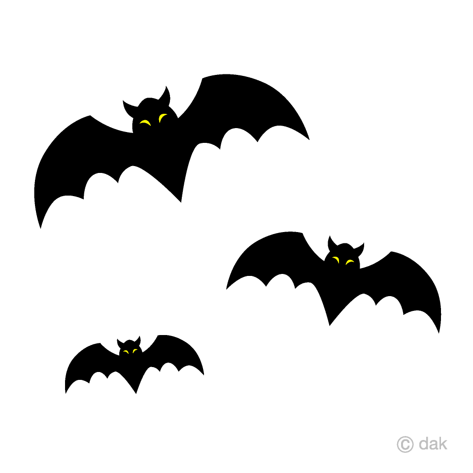 Free Bats Clipart Image|Illustoon.
