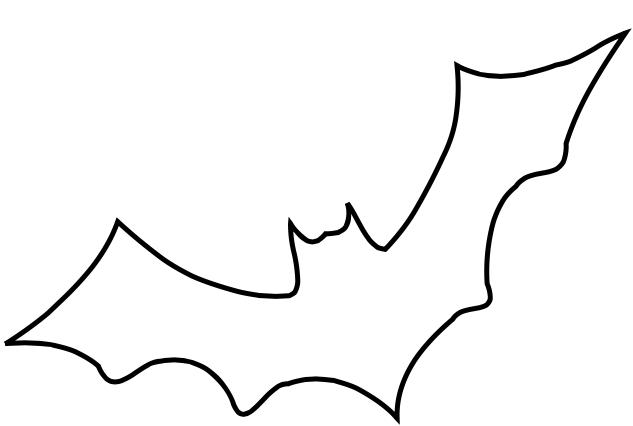 Bat Outline.