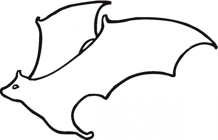Free Bat Outline, Download Free Clip Art, Free Clip Art on.
