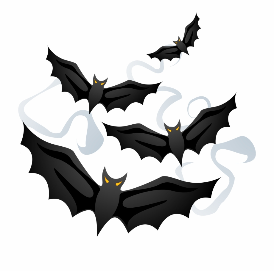 Bats Clipart Frame Png.