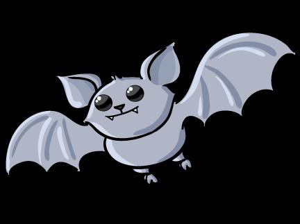 Cute Bat Clipart.
