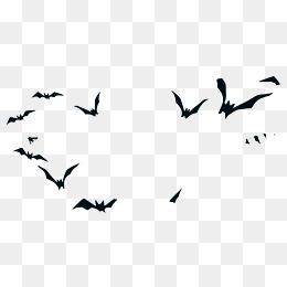 Flying Bat PNG Images.