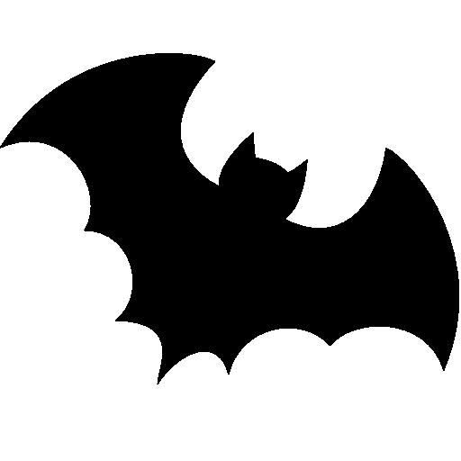 Flying Bat PNG Image.