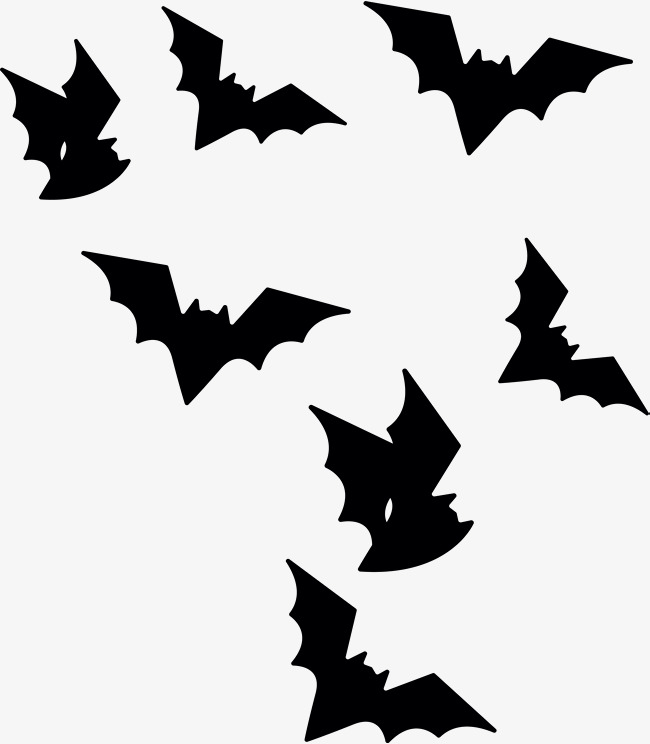 Bats Flying In The Air #51428.