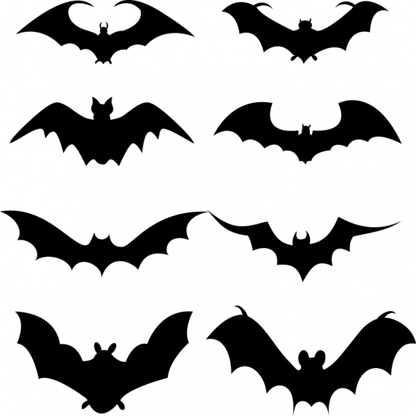 Bat silhouette free vector download (5,345 Free vector) for.