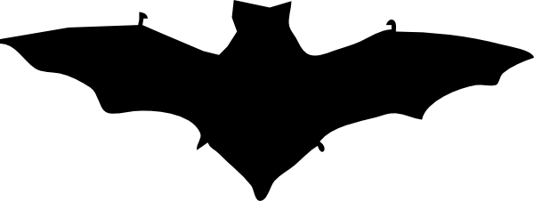 Bat Silhouette clip art Free Vector / 4Vector.