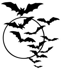 Bats clipart bat swarm, Bats bat swarm Transparent FREE for.