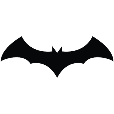 Bat Logo transparent PNG.